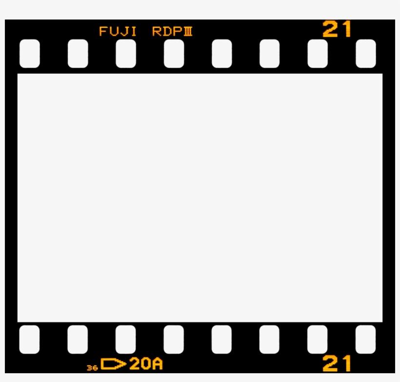 Fuji Border Film Frame Filmframe Vintage - Film Strip - Free