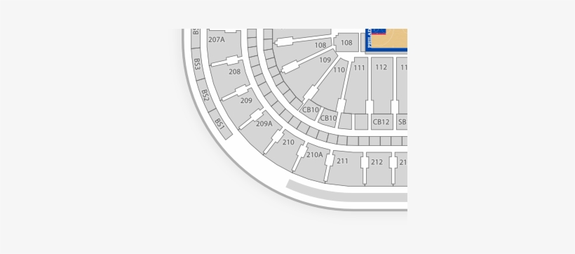 Philadelphia 76ers Seating Chart Find Tickets - Scotiabank Arena