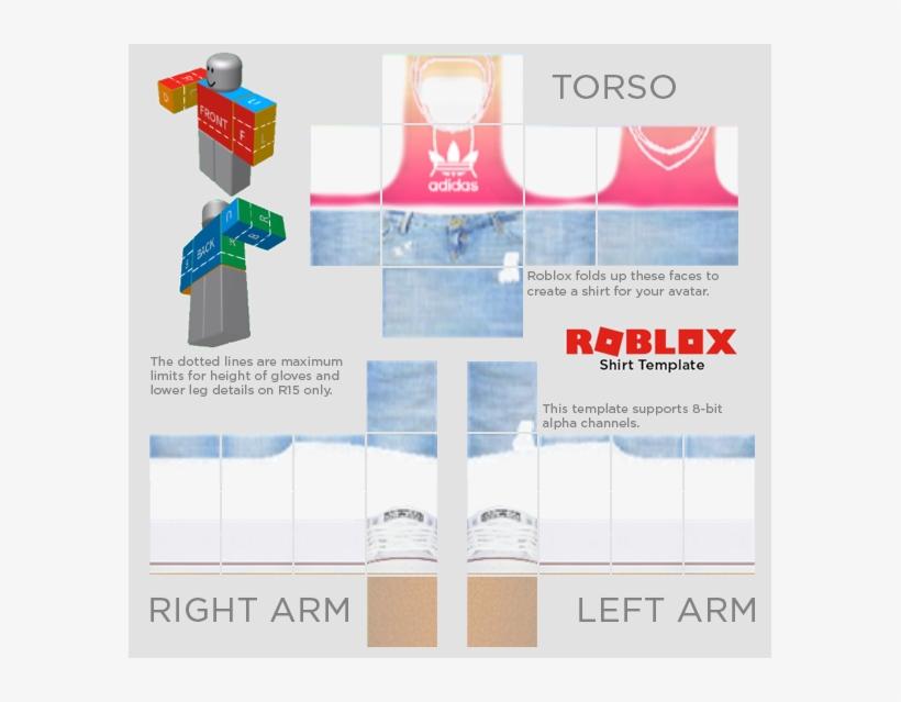 Roblox Templates Roblox Template Twitter - Roblox Shirt Template