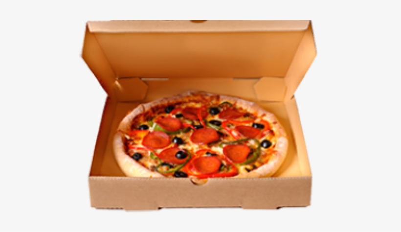 Pizza In Box Png - Free Transparent PNG Download - PNGkey