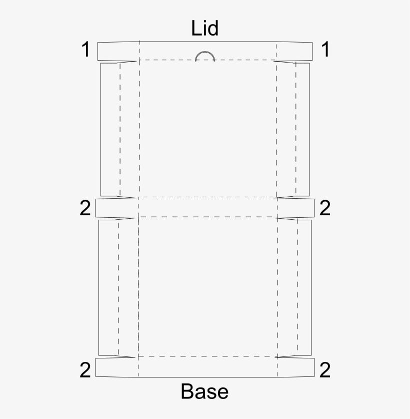 Pizza Box Template Print - Pizza Box Template Png - Free Transparent