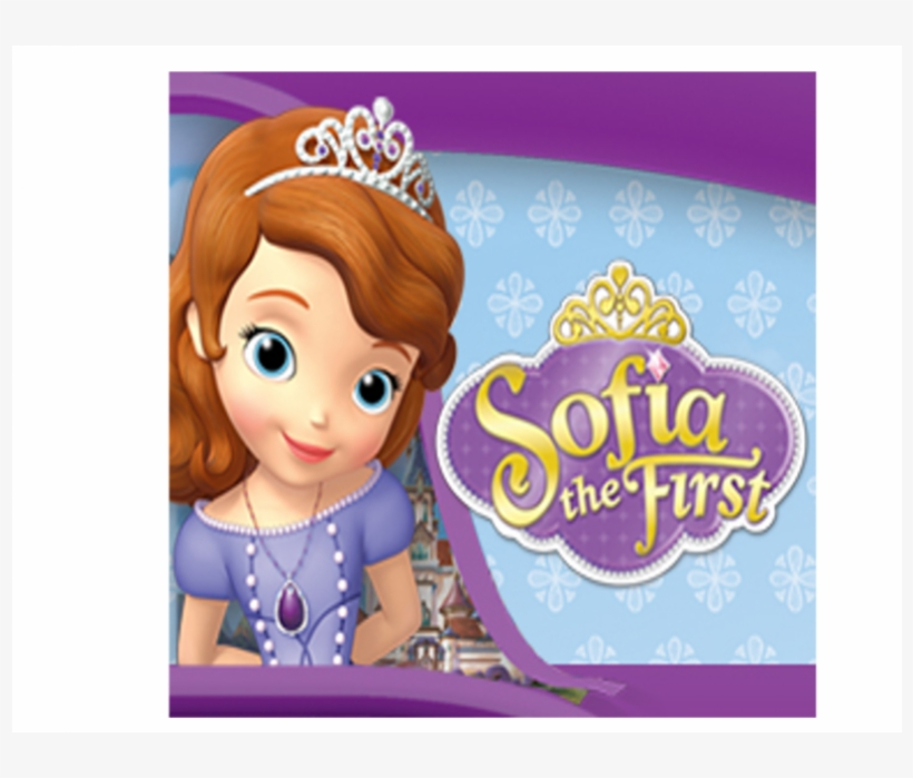 Princess Sofia Topper Characters - Blank Sofia The First Invitation