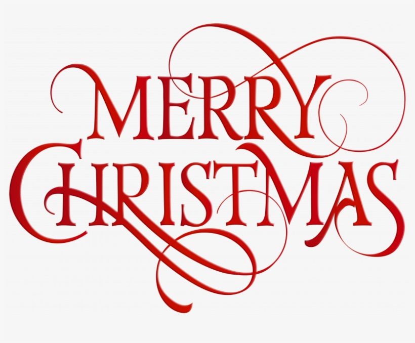 Merry Christmas Banner Free Transparent - Outlines Of A Wolf - Free
