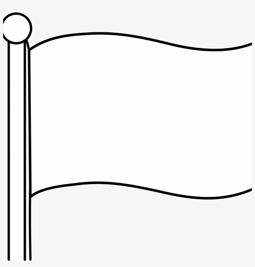 Blank Coloring Page Democraciaejustica Template Printable - Flag Png