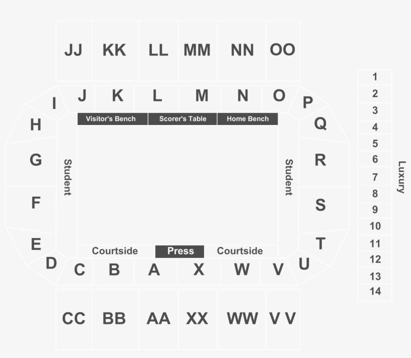 Boston College Eagles Vs - Conte Forum Seating Chart - Free