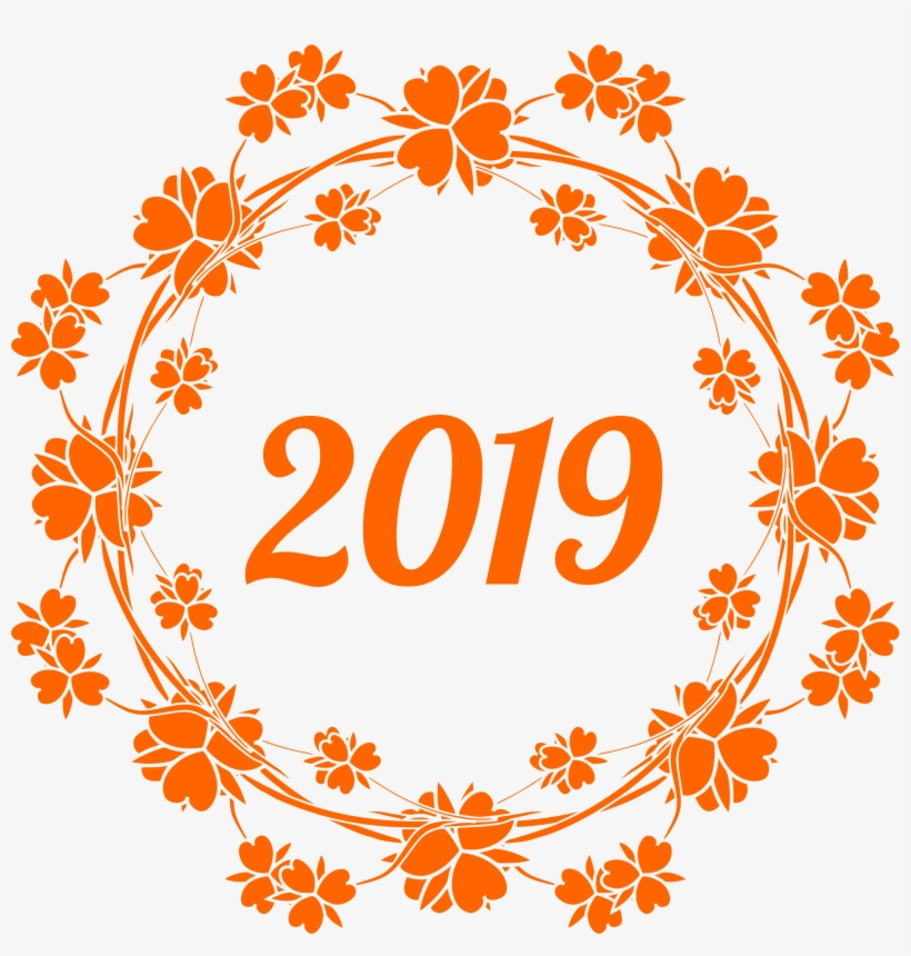 Happy New Year 2019 Png With Hello Others 2376 Transprent - Happy