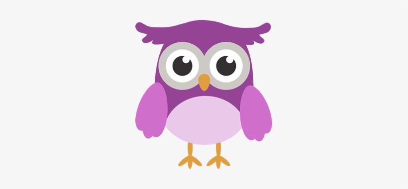Purple Owl - Owls Printable Clip Art - Free Transparent PNG Download