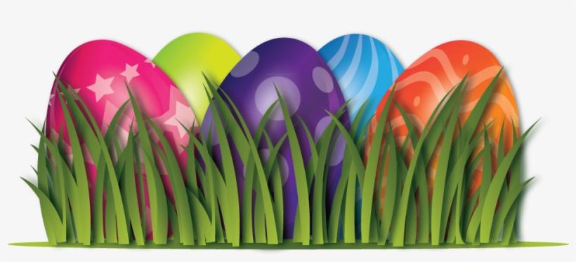 Easter Egg Border Png - Easter Eggs Transparent Background - Free