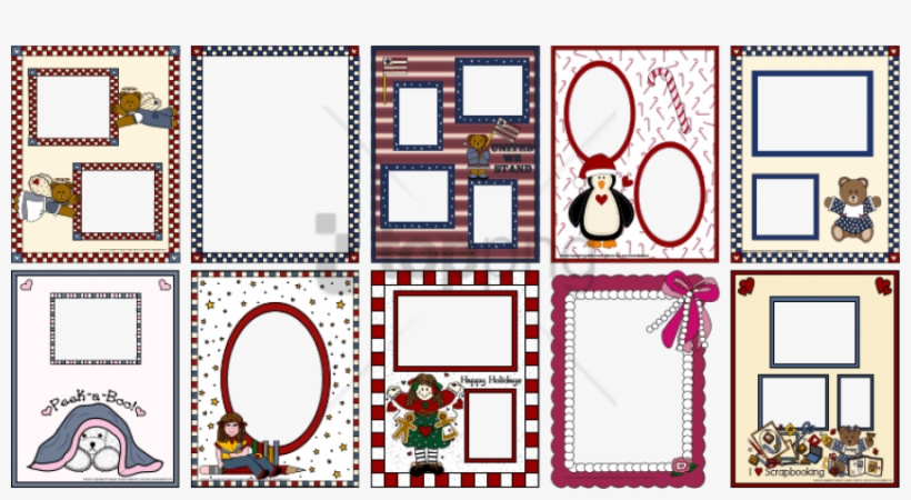 Seriously Printable Scrapbook Borders And Frames 2954 - Scrapbook