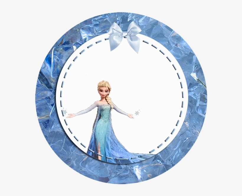 Clipart Resolution 626*626 - Frozen Picture Frame Png - Free