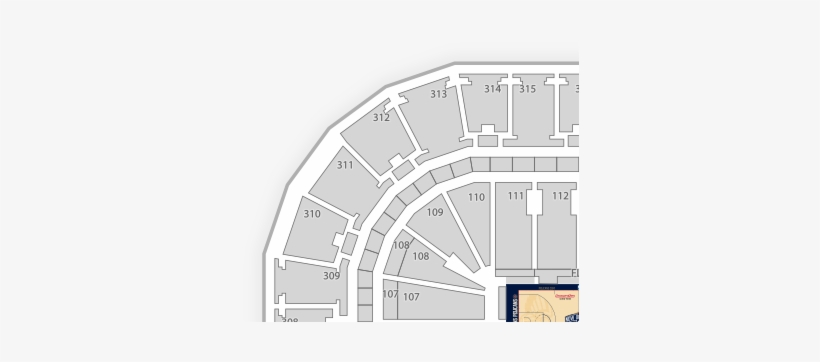 Fiserv Forum Seating Chart - Free Transparent PNG Download - PNGkey