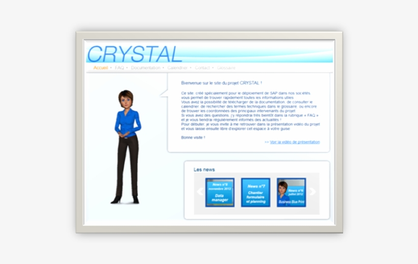Faq, Virtual Assistant And Monthly News For Crystal - Virtual