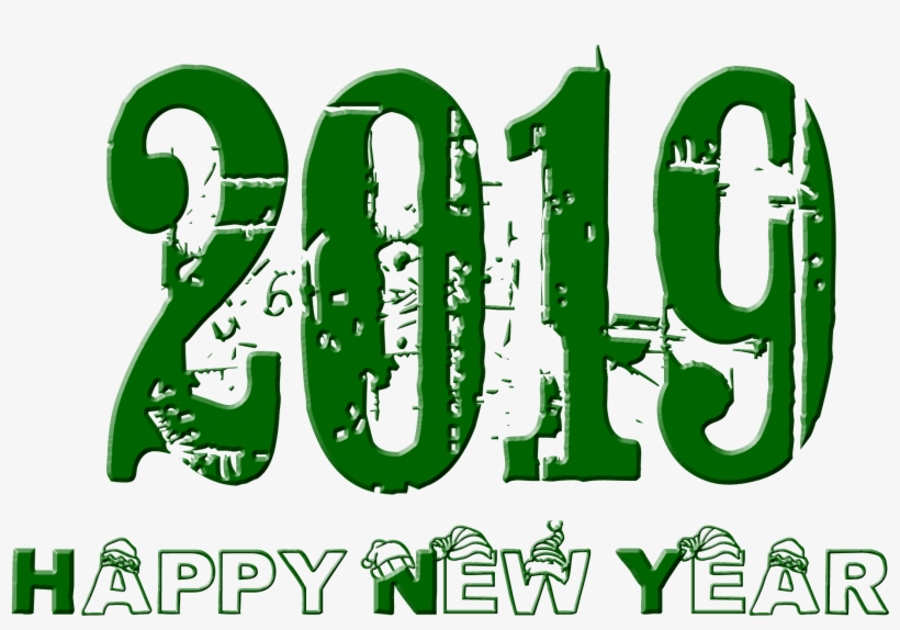 Happy New Year Png With 2019 Transparent Png Others - Happy New Year