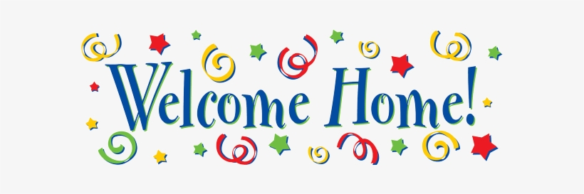 Welcome Home Banner Designs - Free Transparent PNG Download - PNGkey