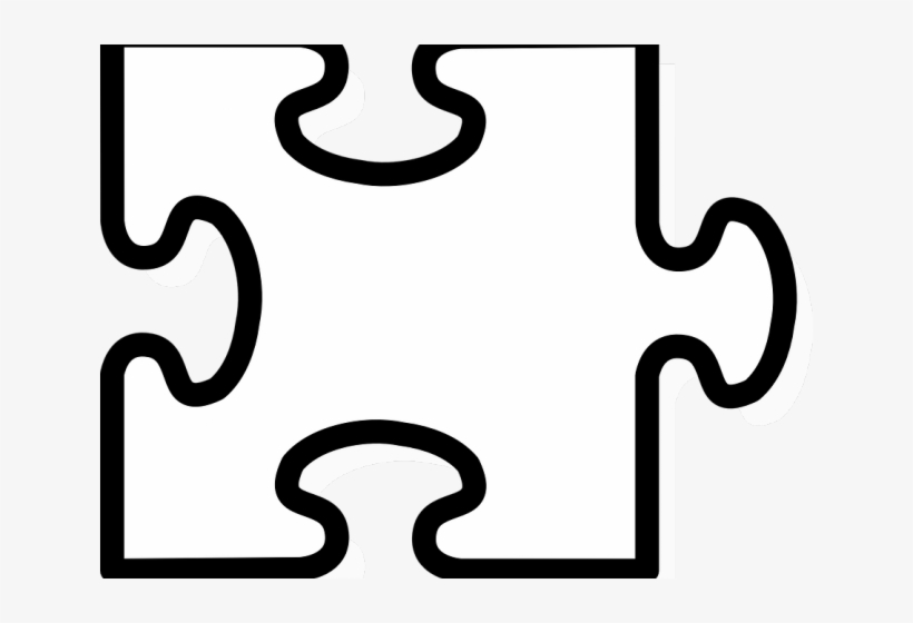 Jigsaw Puzzle Png Transparent Images - Puzzle Pieces Template - Free
