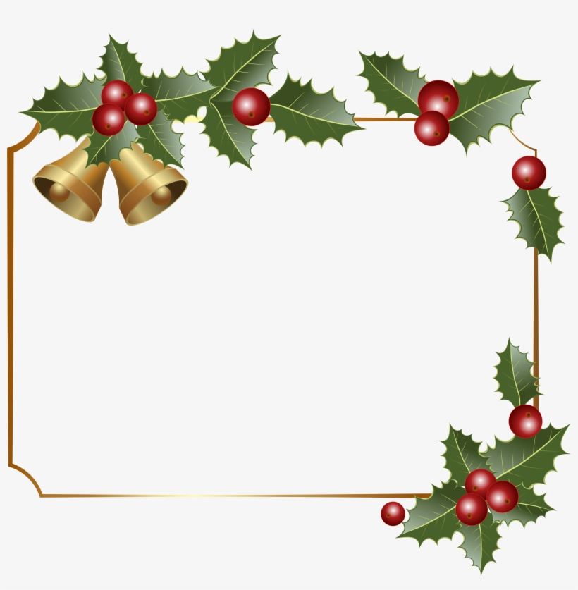 28 Collection Of Christmas Border Clipart Png - Free Png Christmas