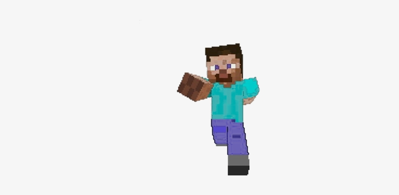 Steve - Free Printable Minecraft Toppers - Free Transparent PNG