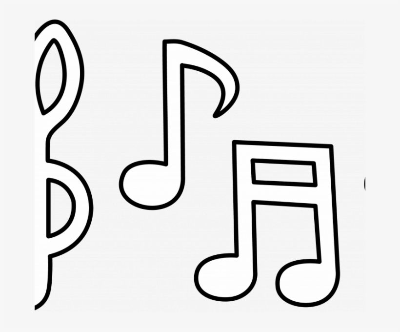 Music Notes Symbols - Music Note Template Printable Free - Free