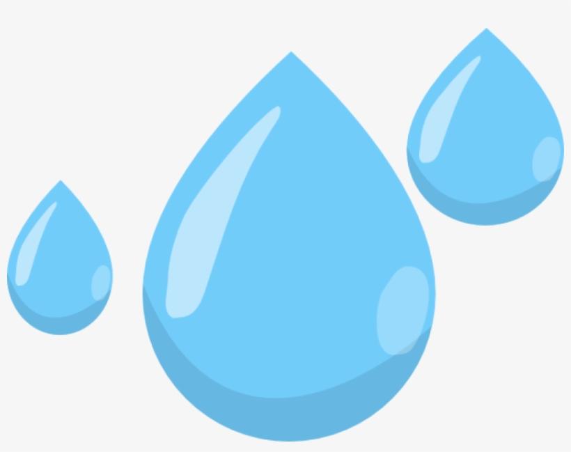 Raindrop Clipart Png - Rain Drop No Background - Free Transparent