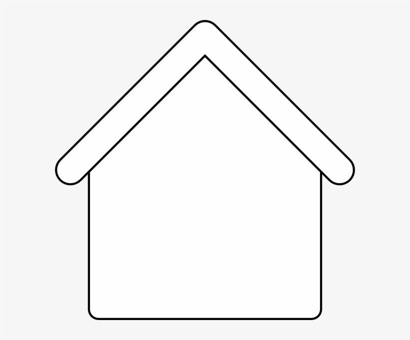 House Outline Template Blank House Clipart Free