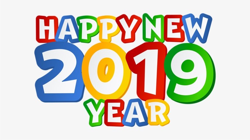 2019 Happy New Year Png Clip Art Image - Happy New Year 2019 Clip