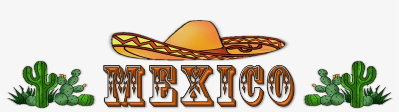 Word Mexico Clipart - Mexico Word - 981x235 PNG Download - PNGkit