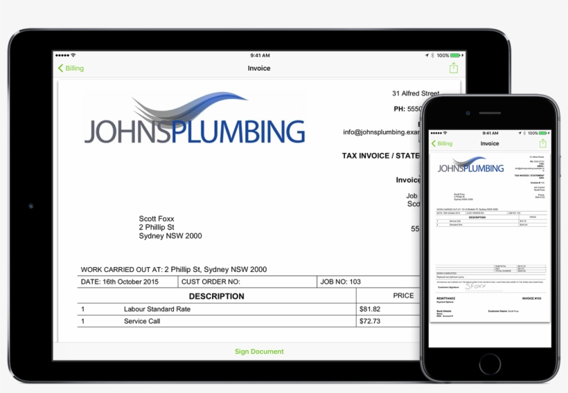 Create Professional Invoices In Seconds, Then Email, - 1500x1054 PNG