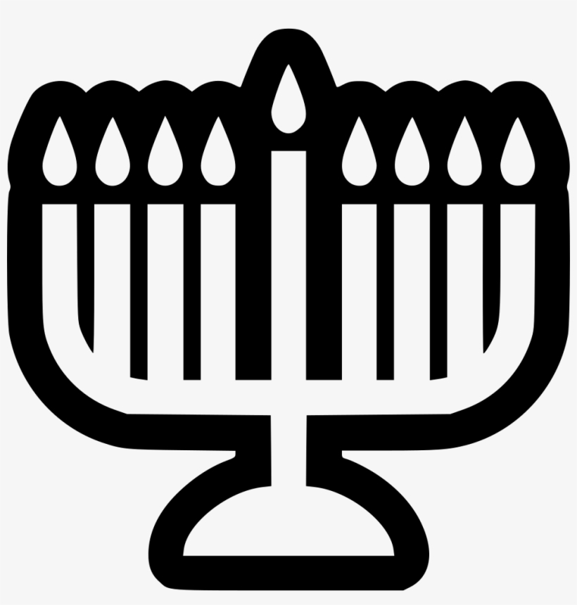 Menorah Comments - Scalable Vector Graphics - 980x980 PNG Download
