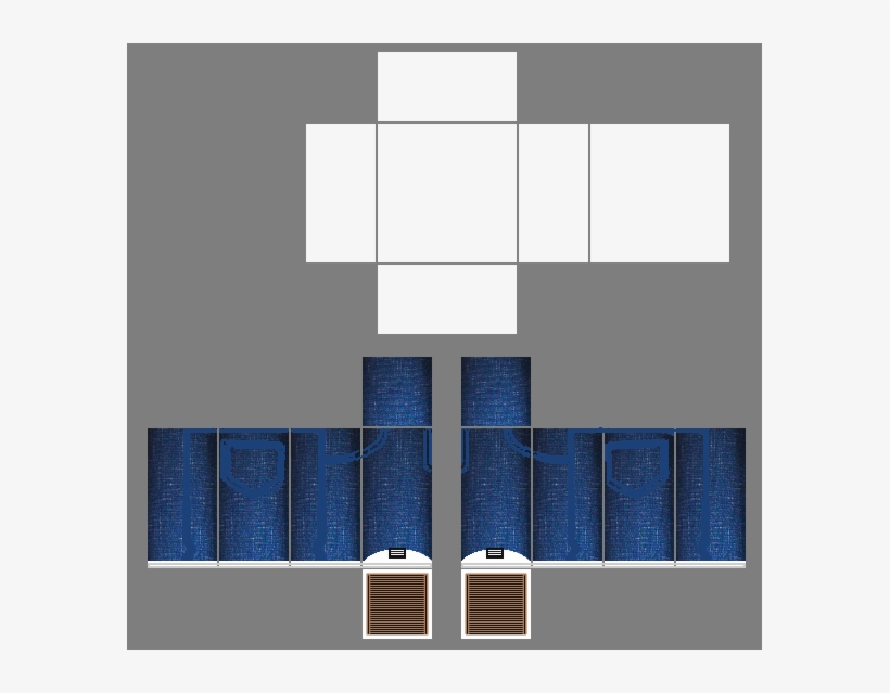 Blue Roblox Pants Template 36679 - Awesome Roblox Pants Template