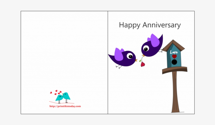 Free Printable Wedding Anniversary Cards With Bottle - Anniversary
