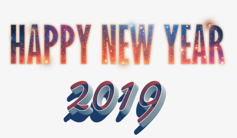 New Year Png Photo - Happy New Year Png Transparent - 1732x978 PNG