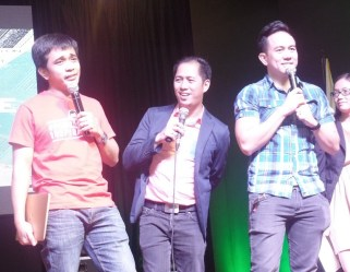 The Three Musketeers of Public Speaking Rocks DLSU Dasmarinas