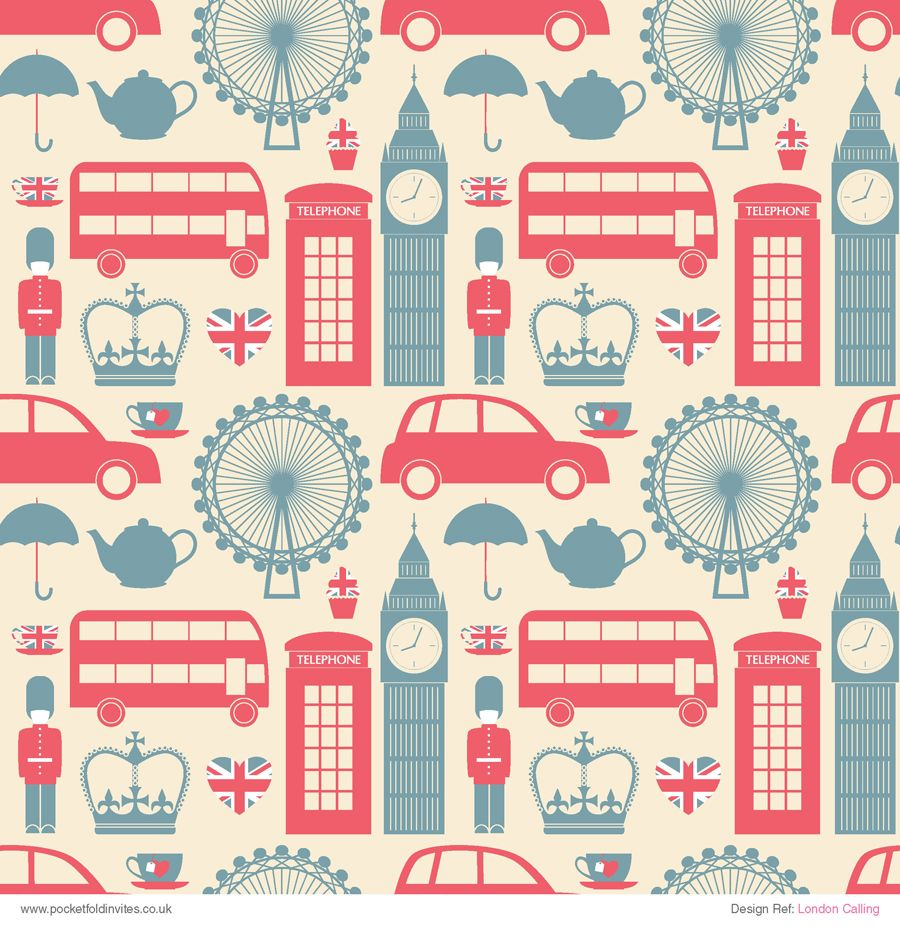 Cute Wallpapers Cocoppa Patterned Paper London Calling