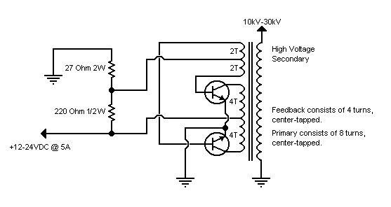 flyback driver circuit