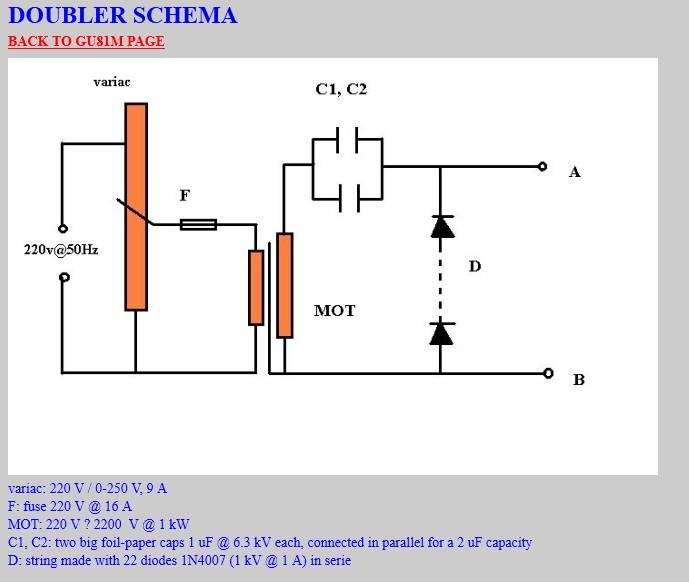 Vacuum tube tesla coil (VTTC) using Russian GU-81m \u2013 PocketMagic