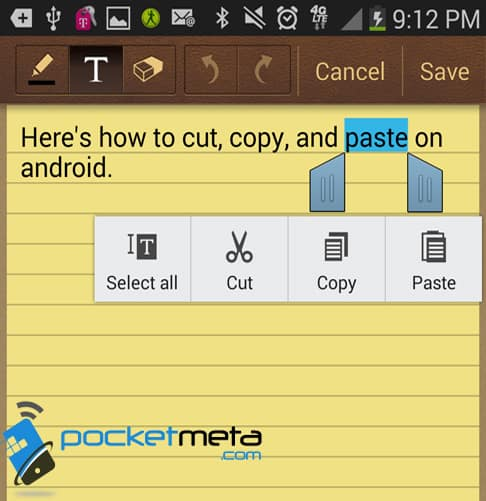 How To Cut, Copy, And Paste On Android