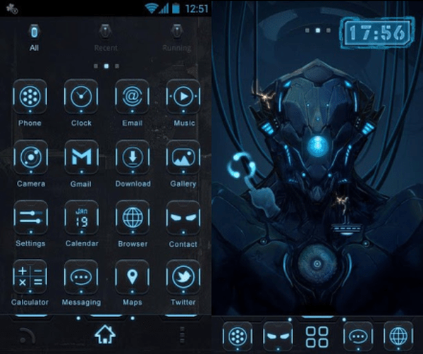 Go Launcher 3d Wallpaper A Selection Of Awesome Android Themes