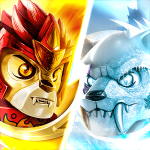 LEGO Chima Tribe Fighters Game