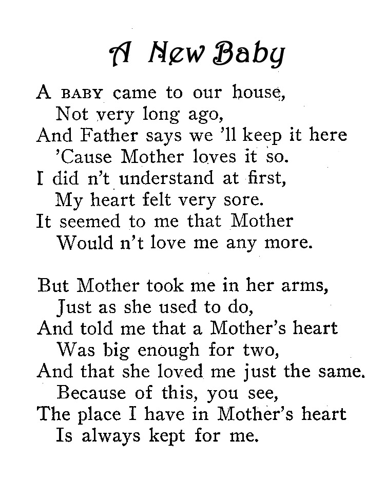 Welcome baby Poems