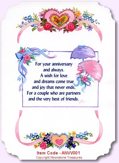 Best 25+ Anniversary verses ideas on Pinterest Wedding card - printable anniversary cards for her