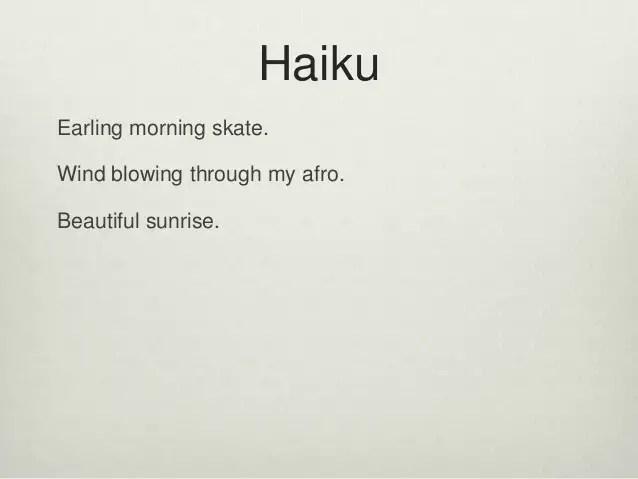 haiku powerpoint - Baskanidai - poetry powerpoint