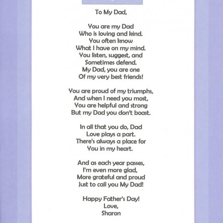 Father daughter quotes Poems - father day cards from daughters