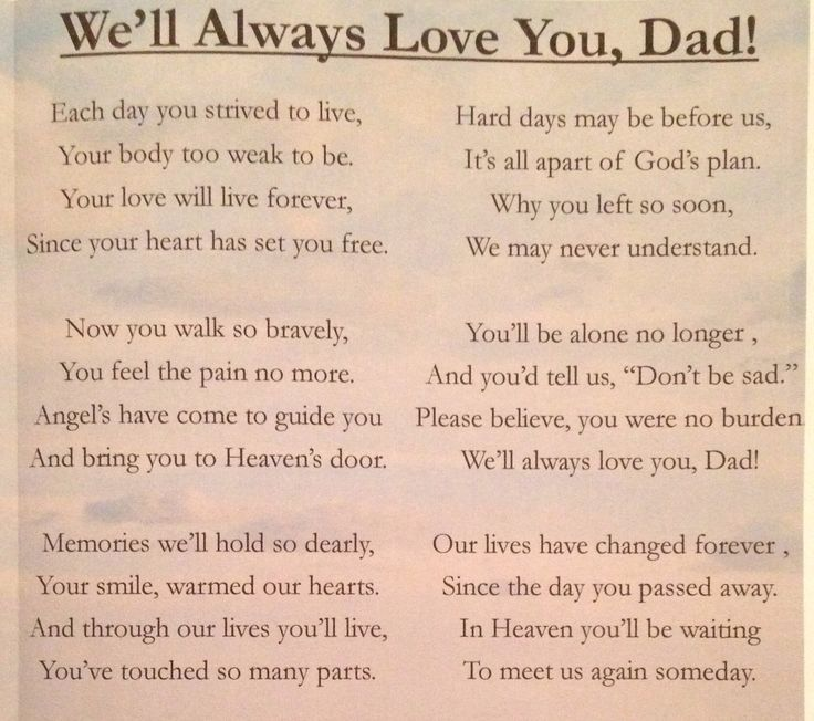 Best 25+ Dad poems ideas on Pinterest Funeral poems, Funeral - father of the bride speech examples