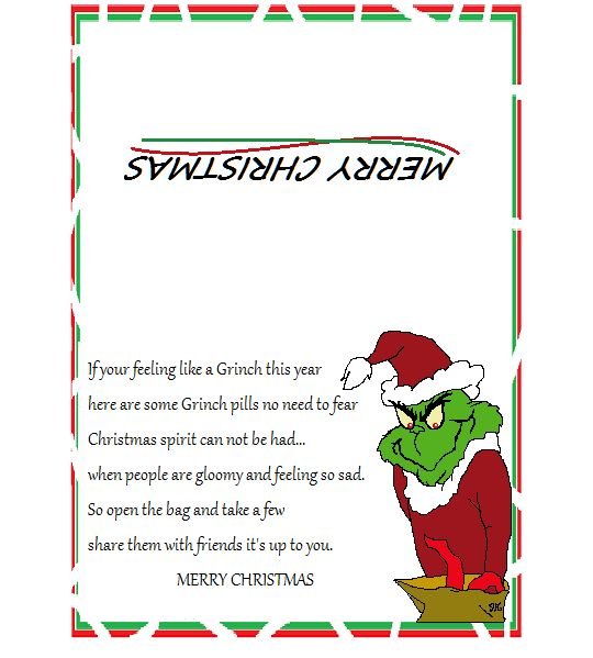 Grinch Poems