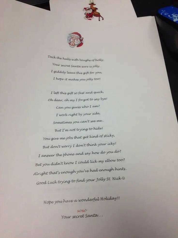 Secret Poems