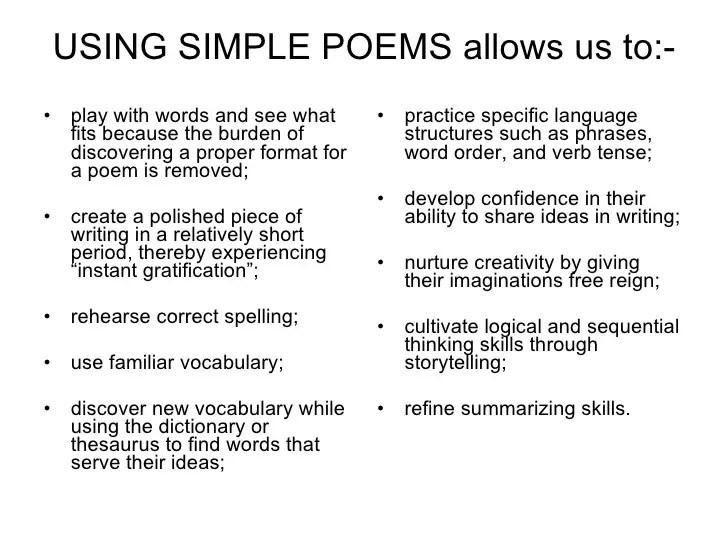 writing a poem format - Asliaetherair