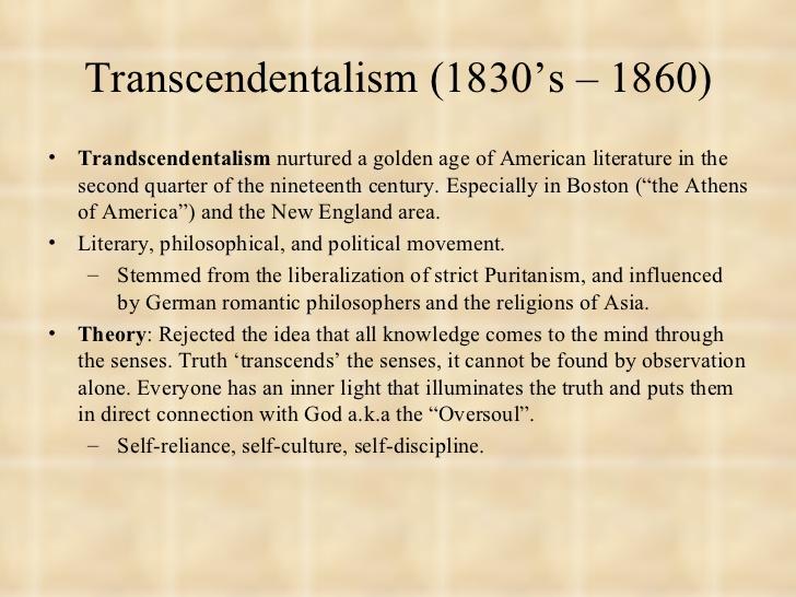 Transcendentalism In Movies Essay Examplerenaissance essay ideas