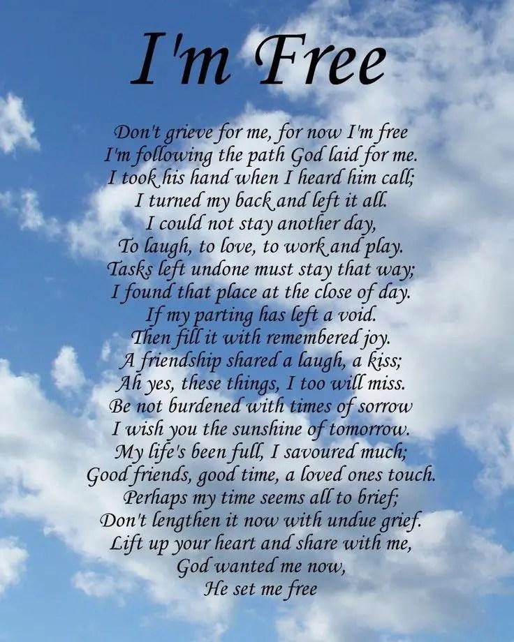 Best 25+ Grandma poem funeral ideas on Pinterest Funeral eulogy - free memorial service program