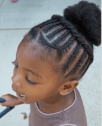 Braided To Scalp Styles