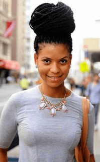 5 Remarkably Cute Black Braided Hairstyles with a Bun